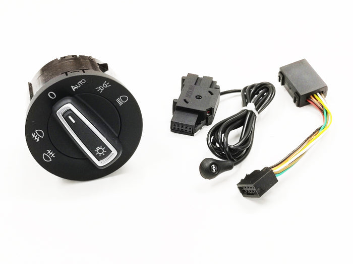 Light Sensor & Auto Euro Head Light Switch Retrofit Kit - Golf MK7
