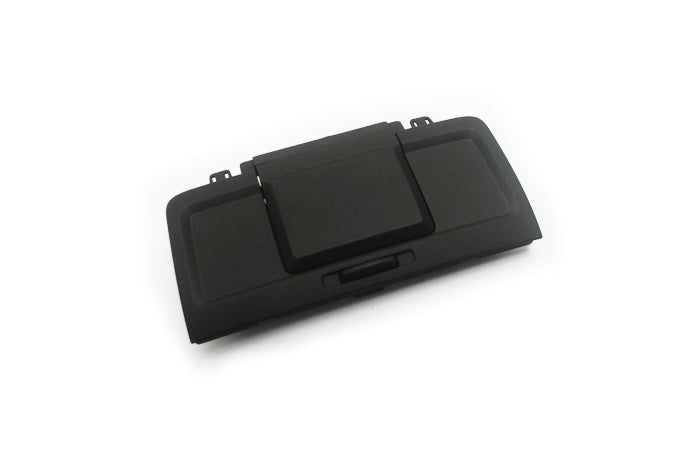 Black Rear Centre Console Tray Plate - VW Passat B6 / CC