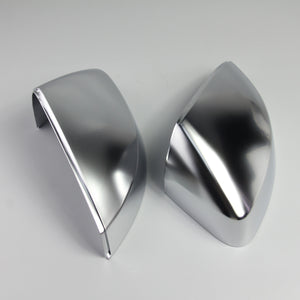 S Line Style Matt Chrome Side Mirror Cap Replacement - A3 8V