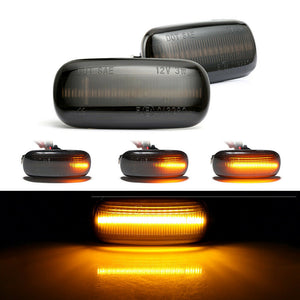 Sequential LED Side Marker Light (Smoke Lens) - A3 A4 A6 TT