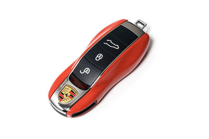 Remote Key Cover (Gloss Orange) For Porsche Keyless Remote Key