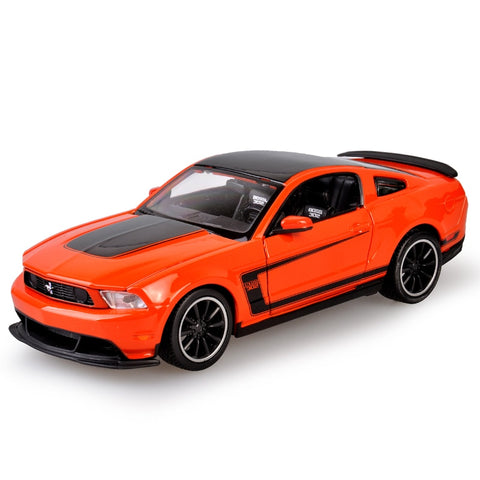 BOSS 302 Mustang Orange 1:24 Model Collectible