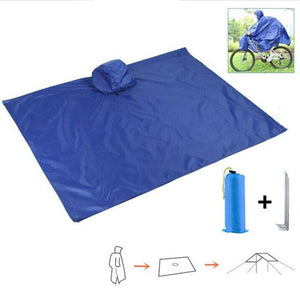 Rainproof Bicycle Raincoat Rain Cape Poncho Cloth Gear Riding Clothes