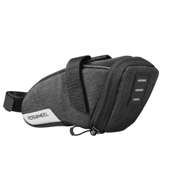Bicycle Strap-on Saddle Bag for Seat Post
