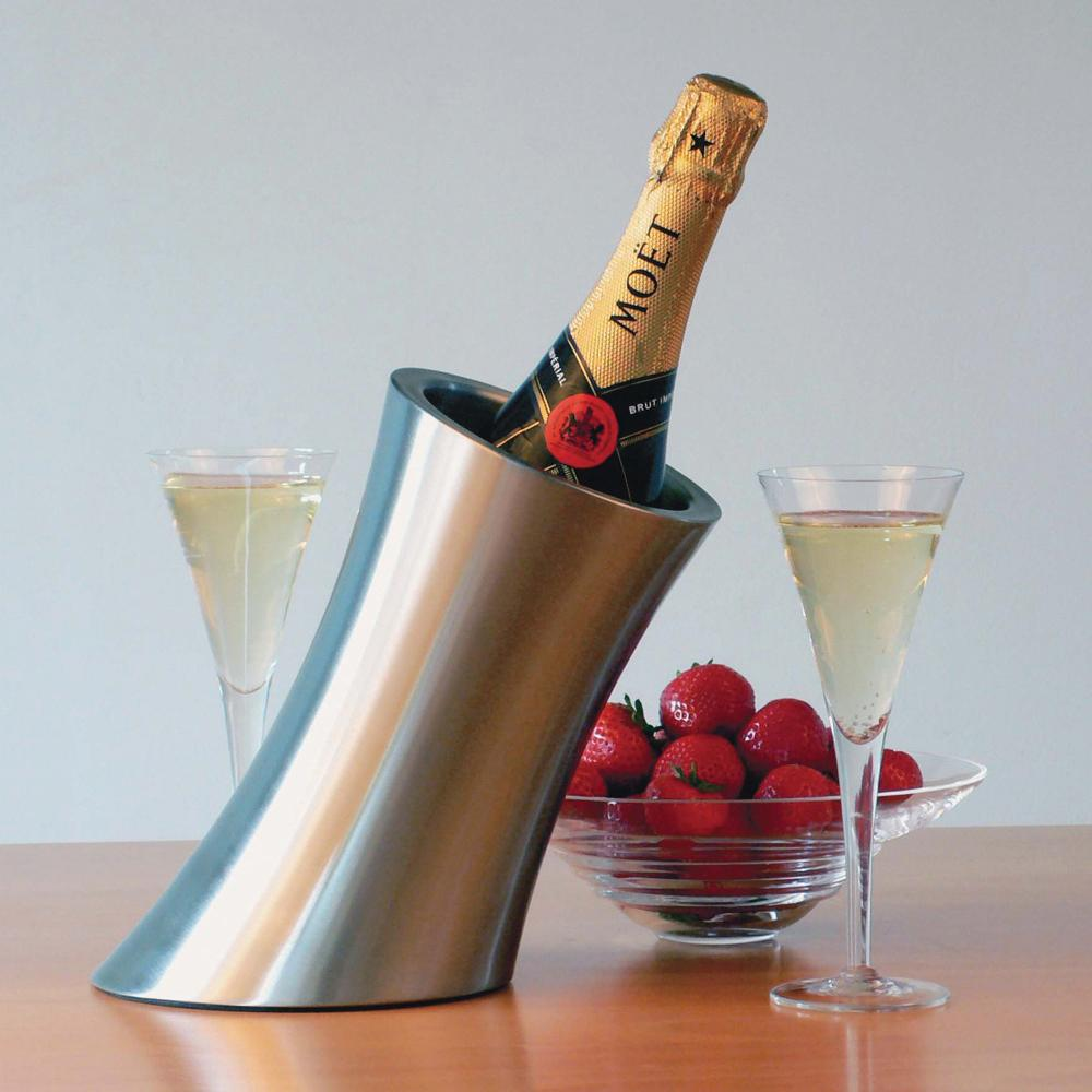 Stainless Steel Wine & Champagne Chiller
