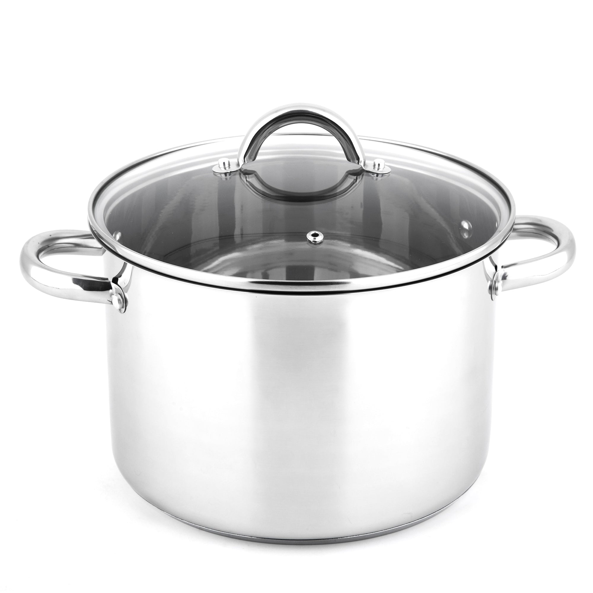 "9 2/5"" Stainless Steel Stockpot & Lid"