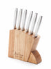 6-Piece Master Gourmet Stainless Steel Steak Knife Set