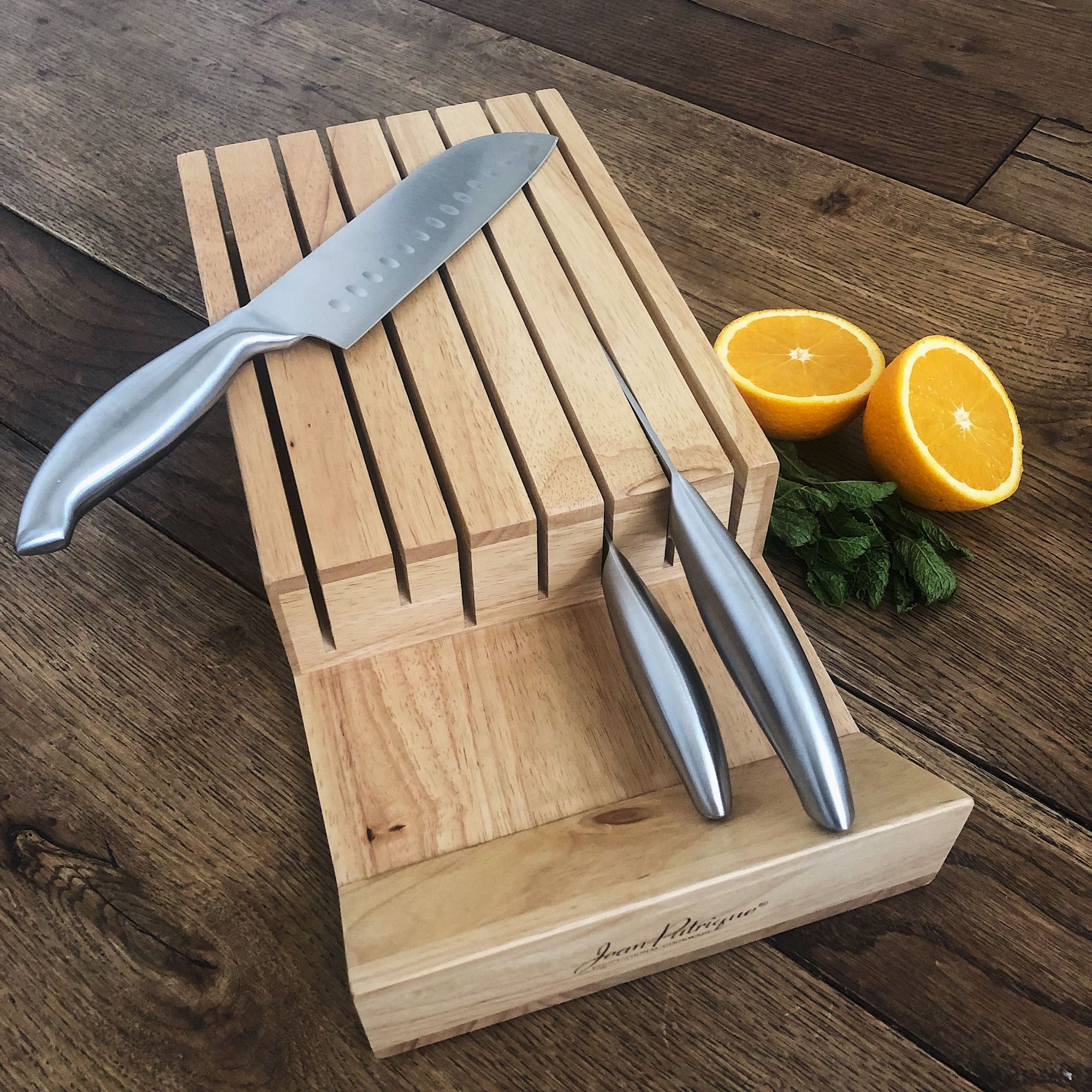 In-Drawer Knife Block & Organiser - 7-slot