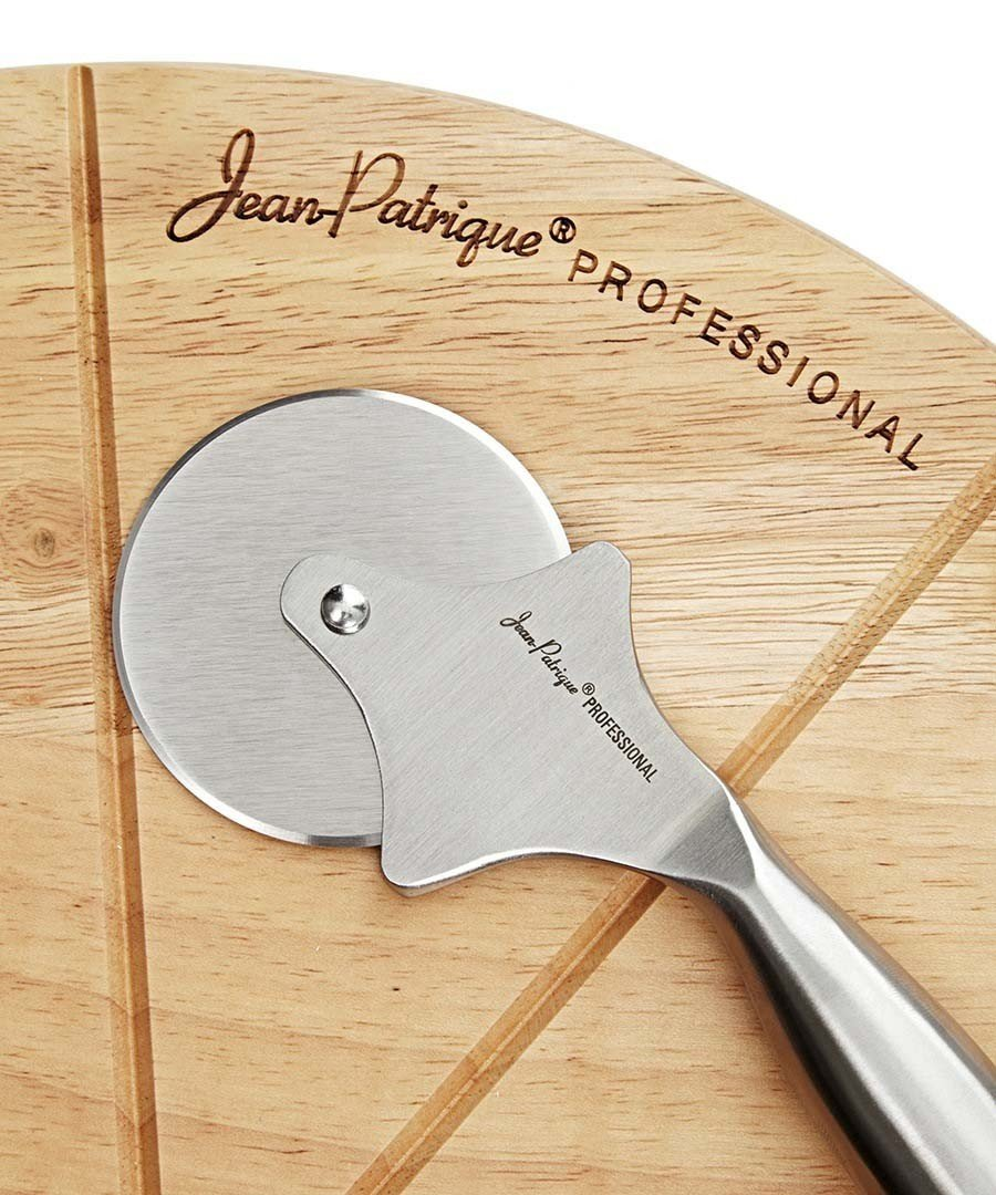 Pizza Board and Pizza Cutter Set