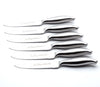 6-Piece Stainless Steel Steak Knife Sets - Without Block