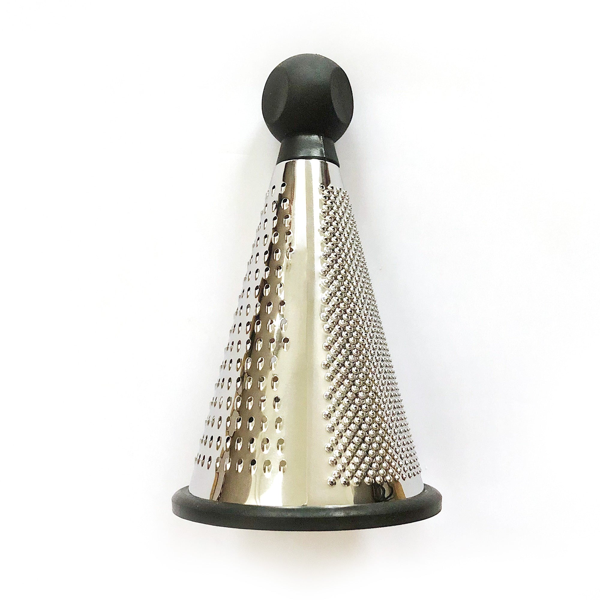 Stainless Steel Cheese Grater - 3 Sided