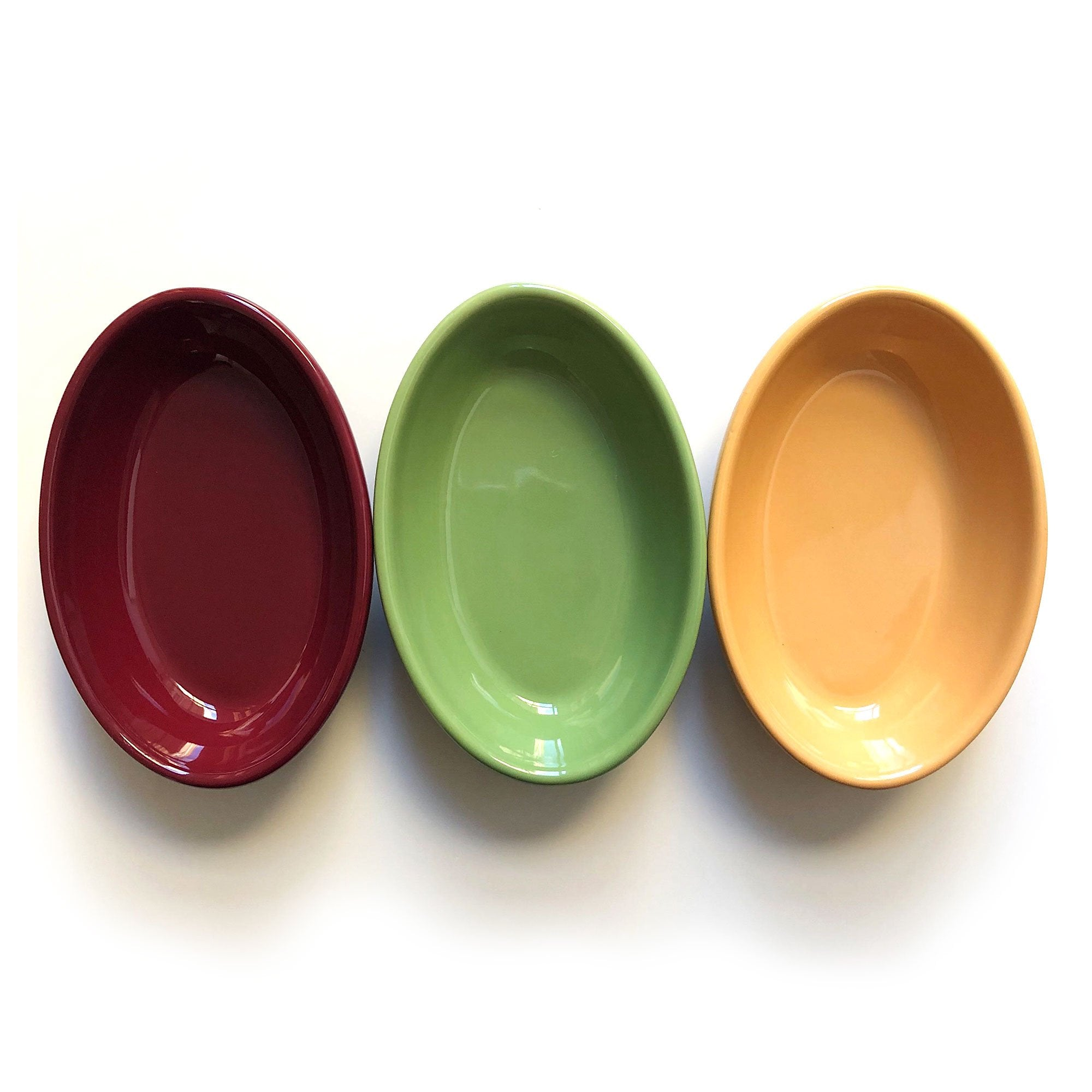 Oval Tapas Serving Dishes - Set of 6