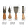 4-Piece Jean Patrique Cheese Knife Set