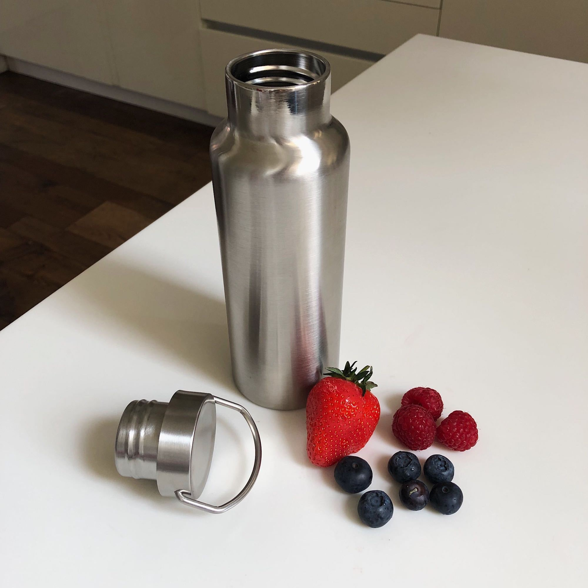 Insulated Stainless Steel Water Bottle - 500ml