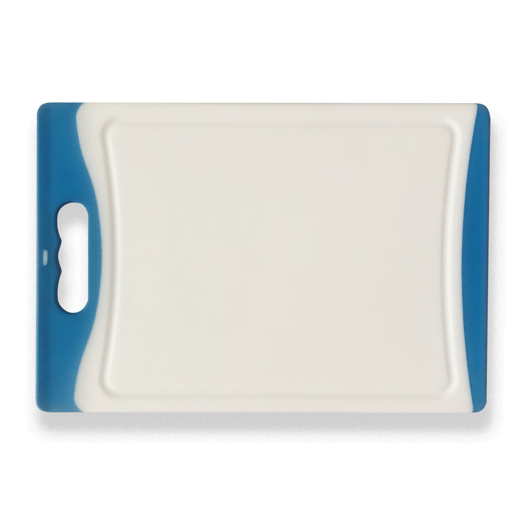 Small Plastic Chopping Board - Blue 11.4""