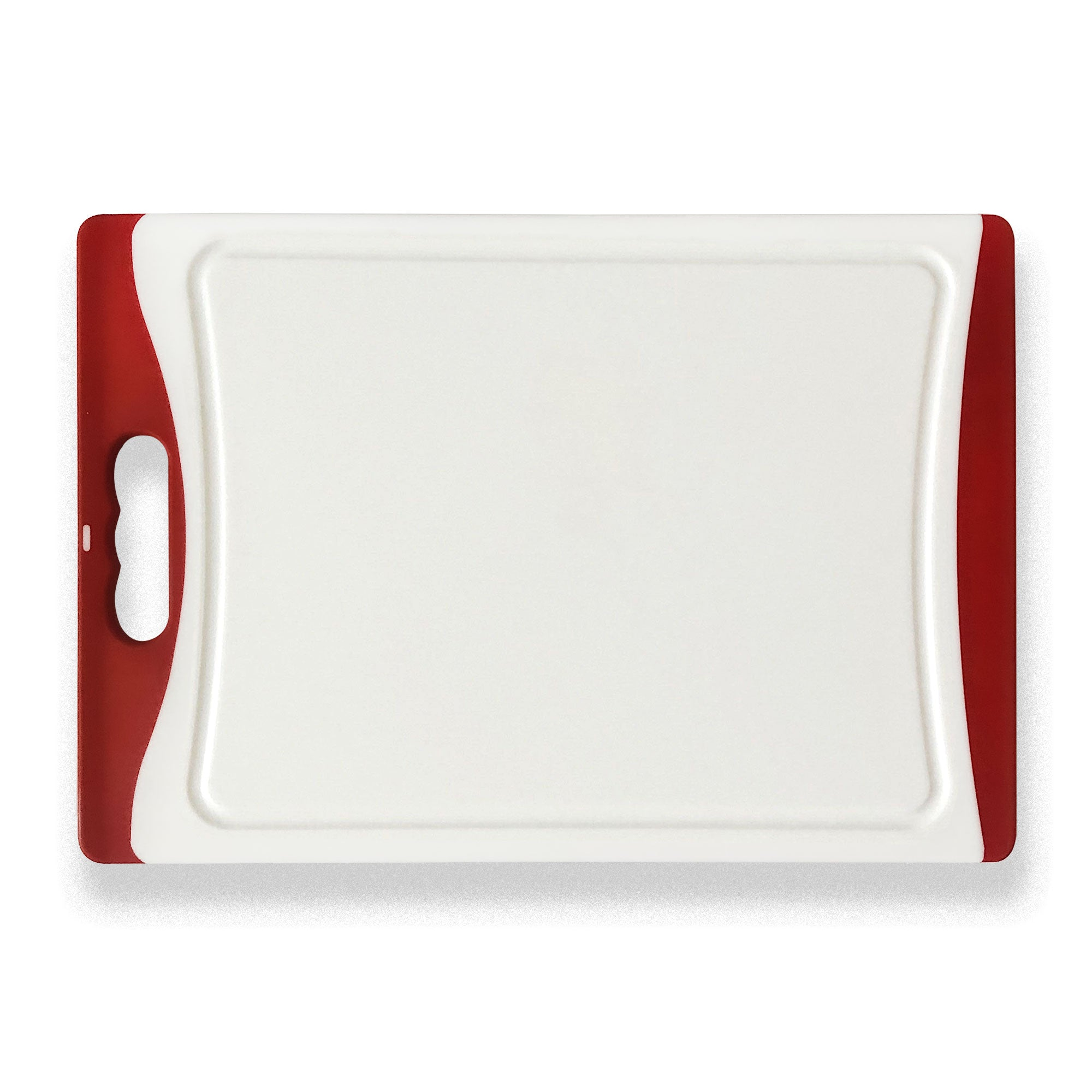 Medium Plastic Chopping Board - Red 14.1""