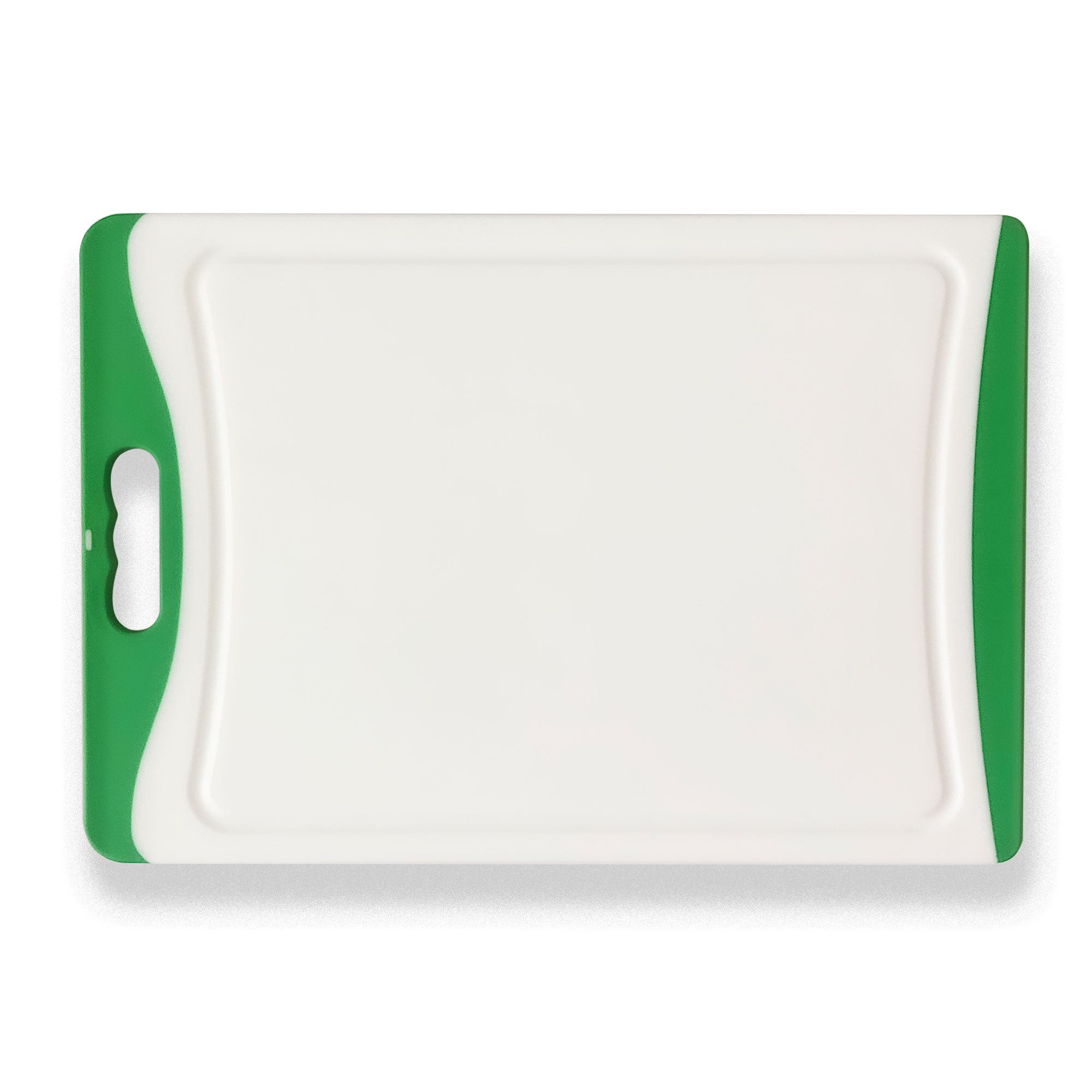 Large Plastic Chopping Board - Green 16.9""
