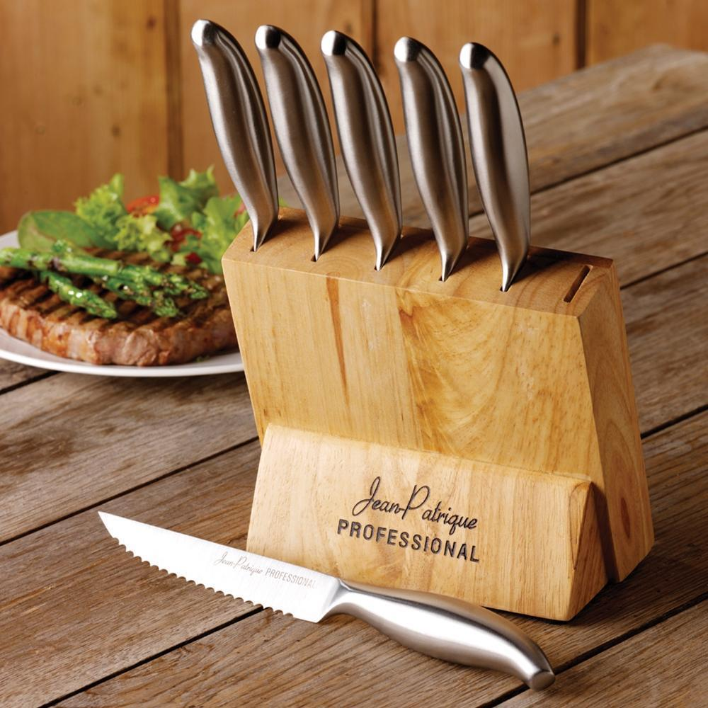 Stainless Steel Steak Knives - Set of 6