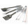 Professional Heavy-Duty Stainless Steel BBQ Utensil Set
