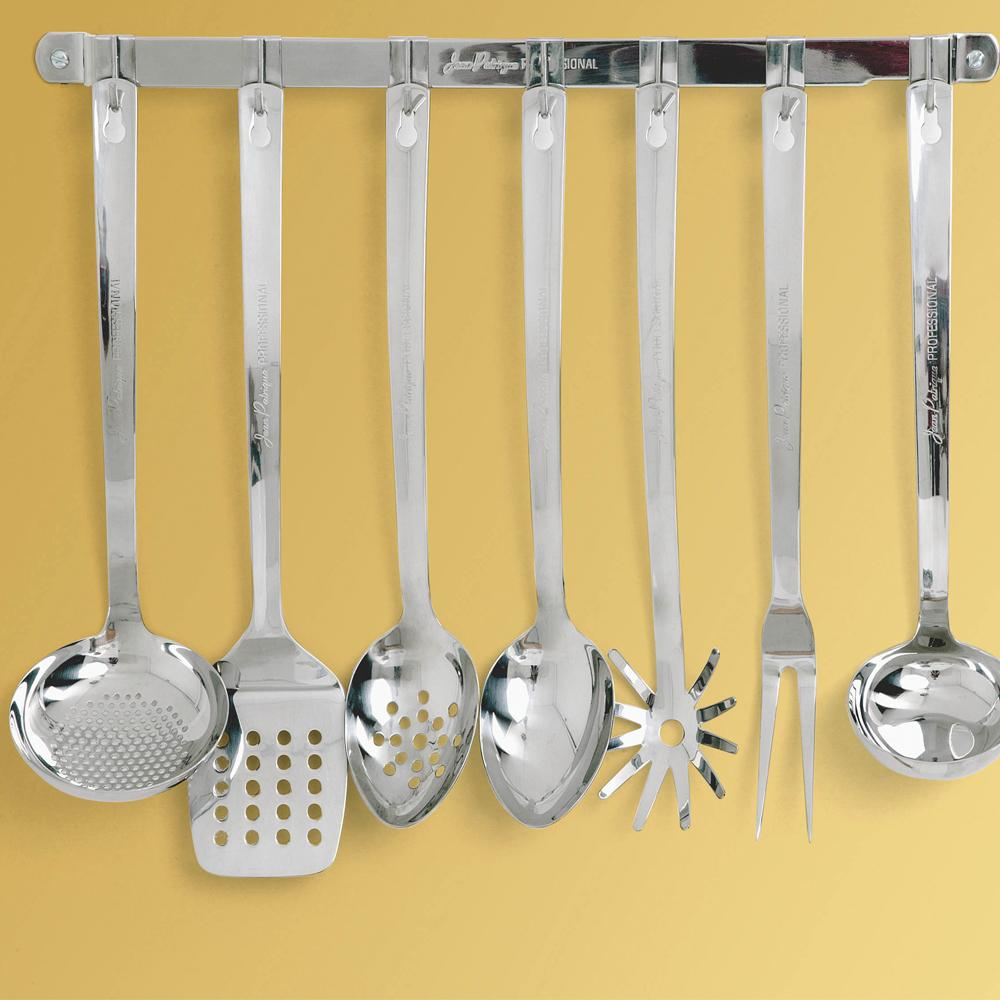 7-Hook Utensil Rack, 19 3/5""