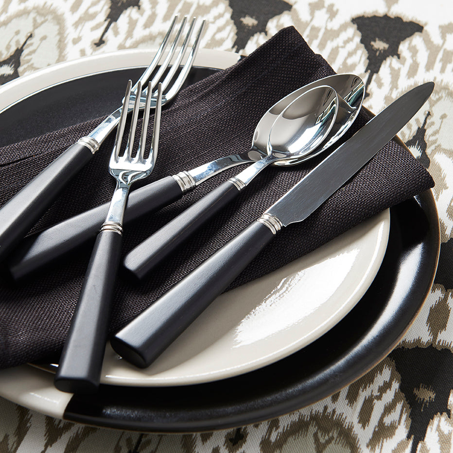Ebony Flatware