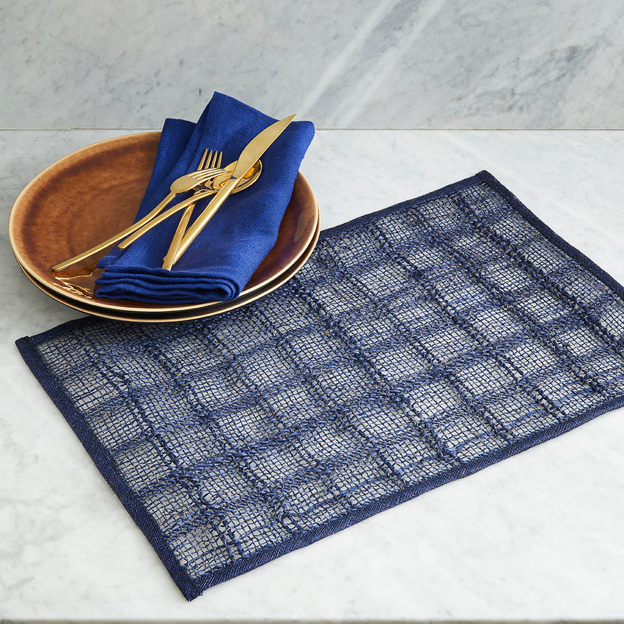 Woven Bordered Placemats (Set/4)