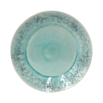Crackled Turquoise Plate (Set/6)