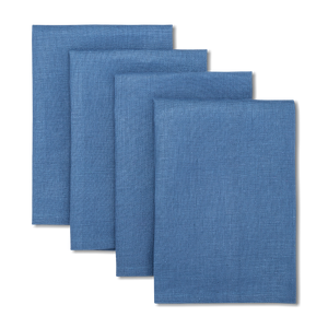 Load image into Gallery viewer, Solid Linen Napkins Blue