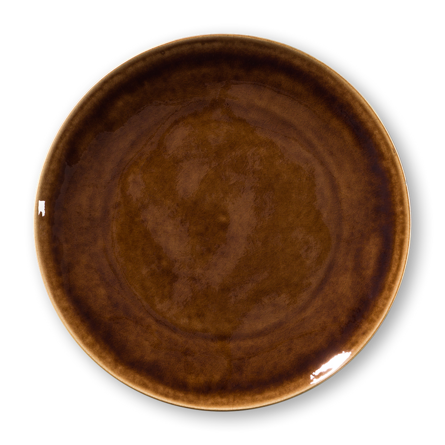 Mars Brown Plate (Set/6)