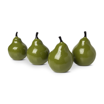 Green Ceramic Decorative Pears
