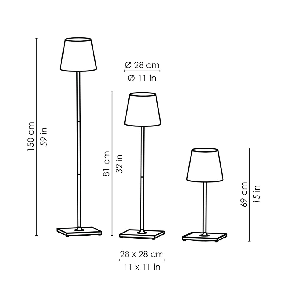 Load image into Gallery viewer, Splendidly Wireless Floor Lamp