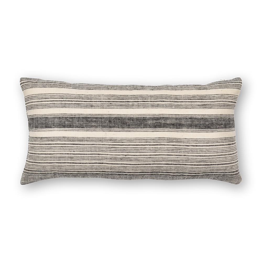 Load image into Gallery viewer, Riverine Striped Lumbar Black