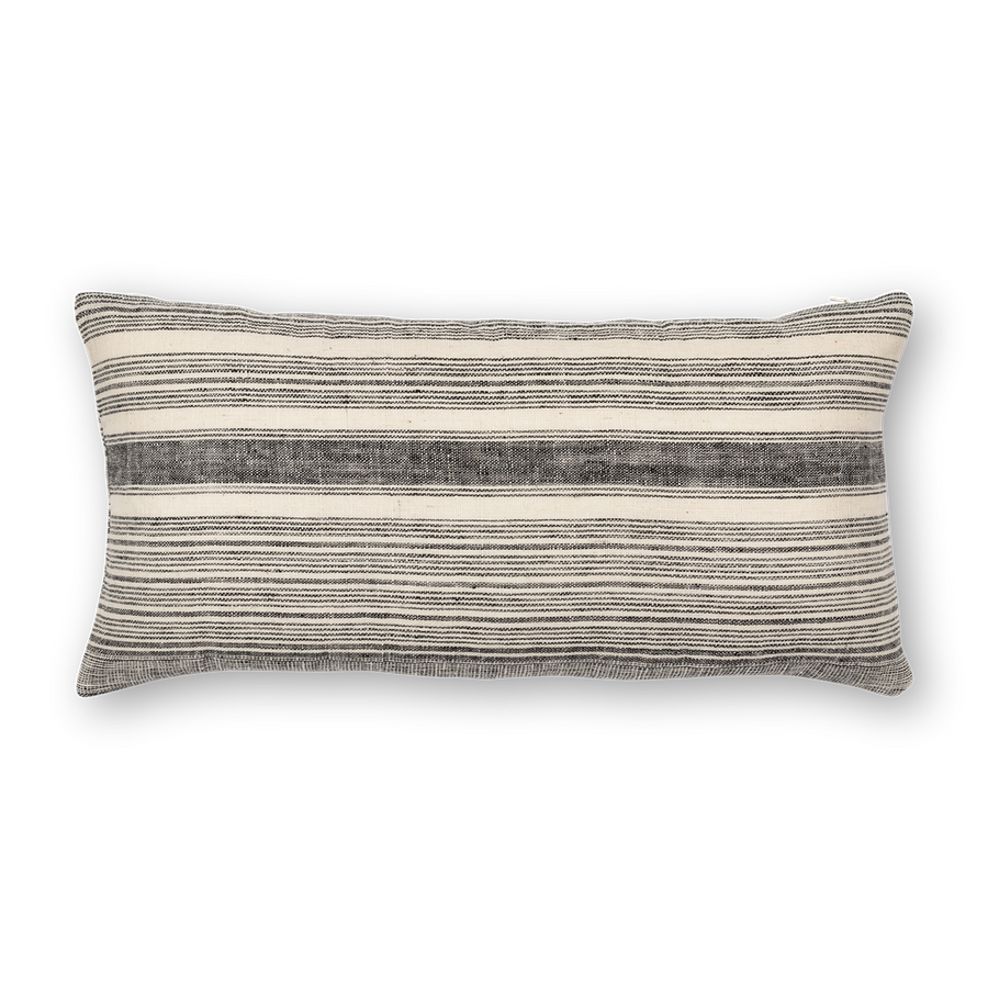 Riverine Striped Lumbar Black