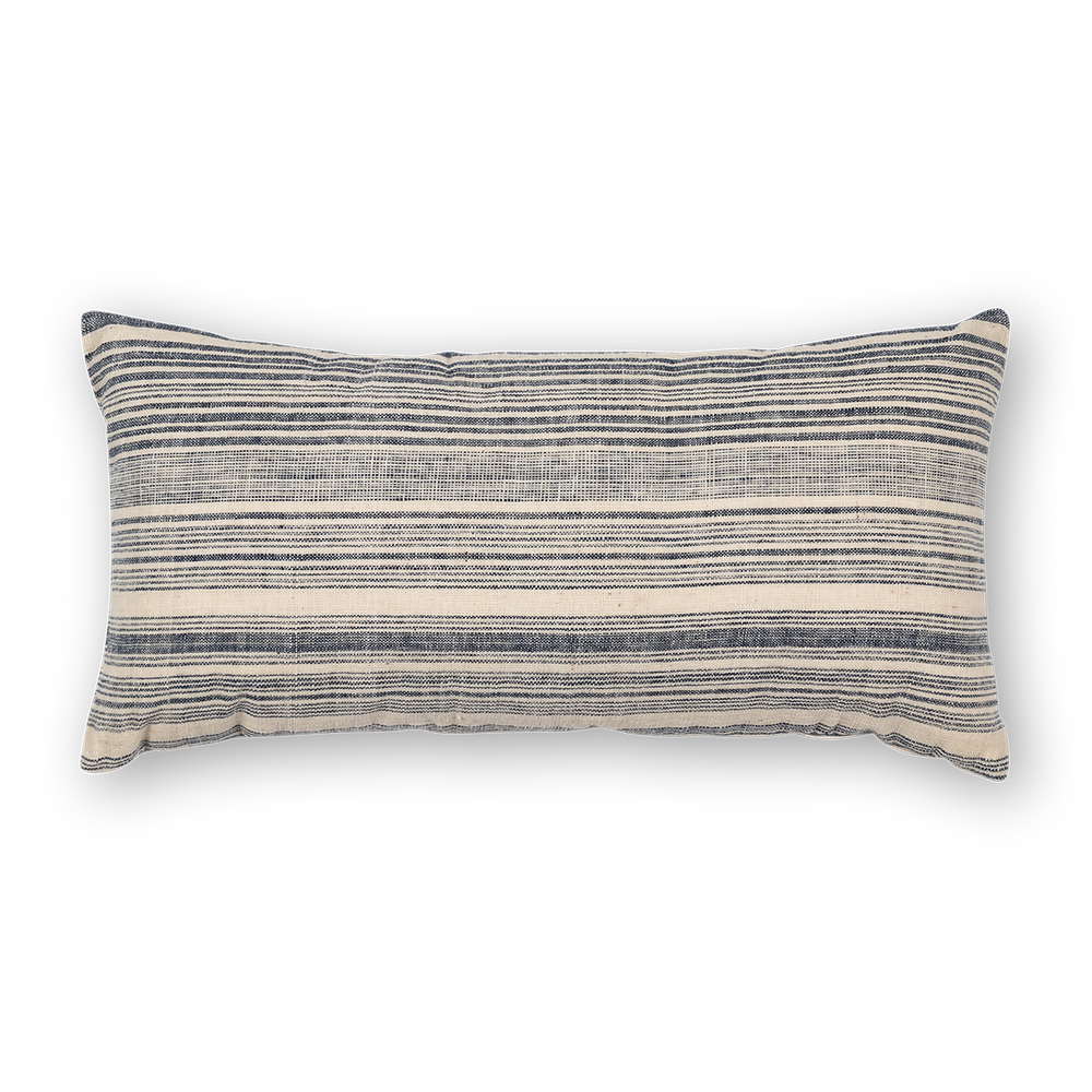Load image into Gallery viewer, Riverine Striped Lumbar Navy