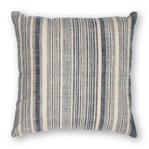 Load image into Gallery viewer, Riverine Striped Pillow Navy