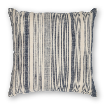 Riverine Striped Pillow Navy