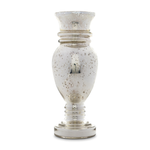 Silvered Mercury Glass Vase