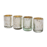 Silvered Votives (Set/4)