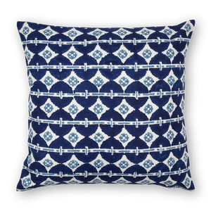 Talisman Printed Linen Pillow