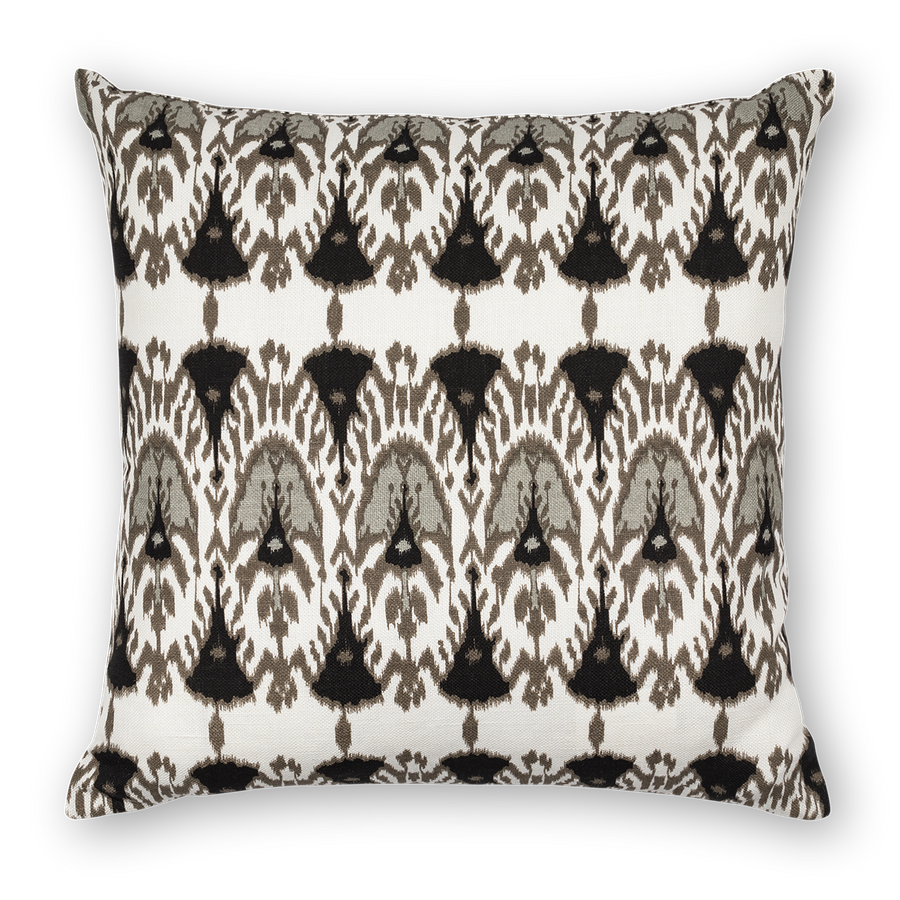 Wayfarer Printed Linen Pillow Black