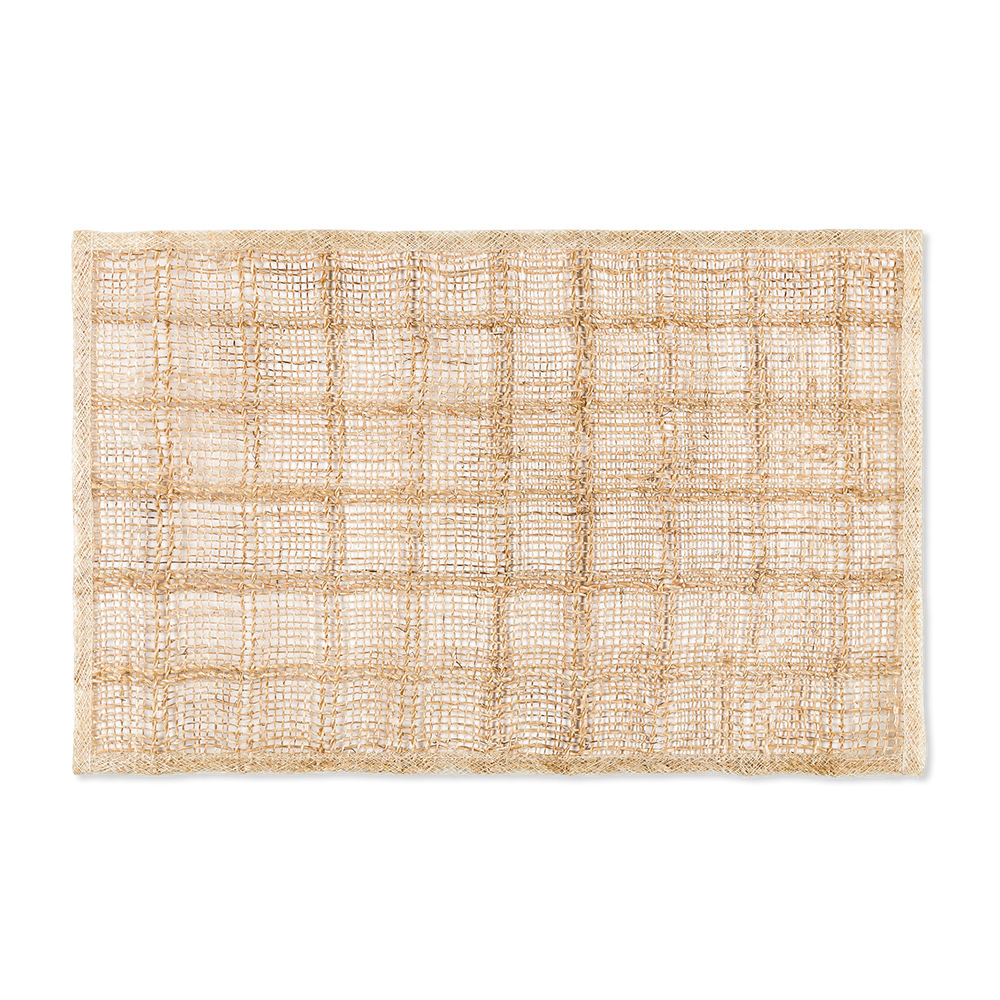 Load image into Gallery viewer, Woven Bordered Placemats (Set/4)