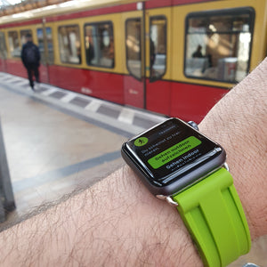 NEON GREEN APPLE WATCH STRAP - Mondesu I Apple Watch Armbänder⌚️