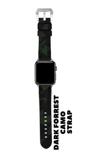 DARK FORREST CAMO APPLE WATCH STRAP