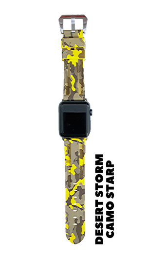 DESERT STORM CAMO APPLE WATCH STRAP