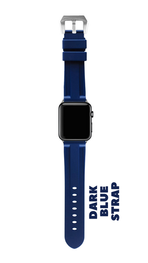 DARK BLUE APPLE WATCH STRAP