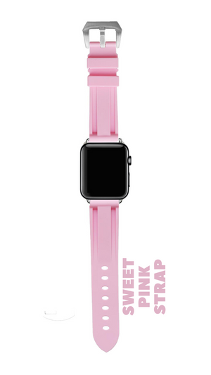 SWEET PINK APPLE WATCH STRAP