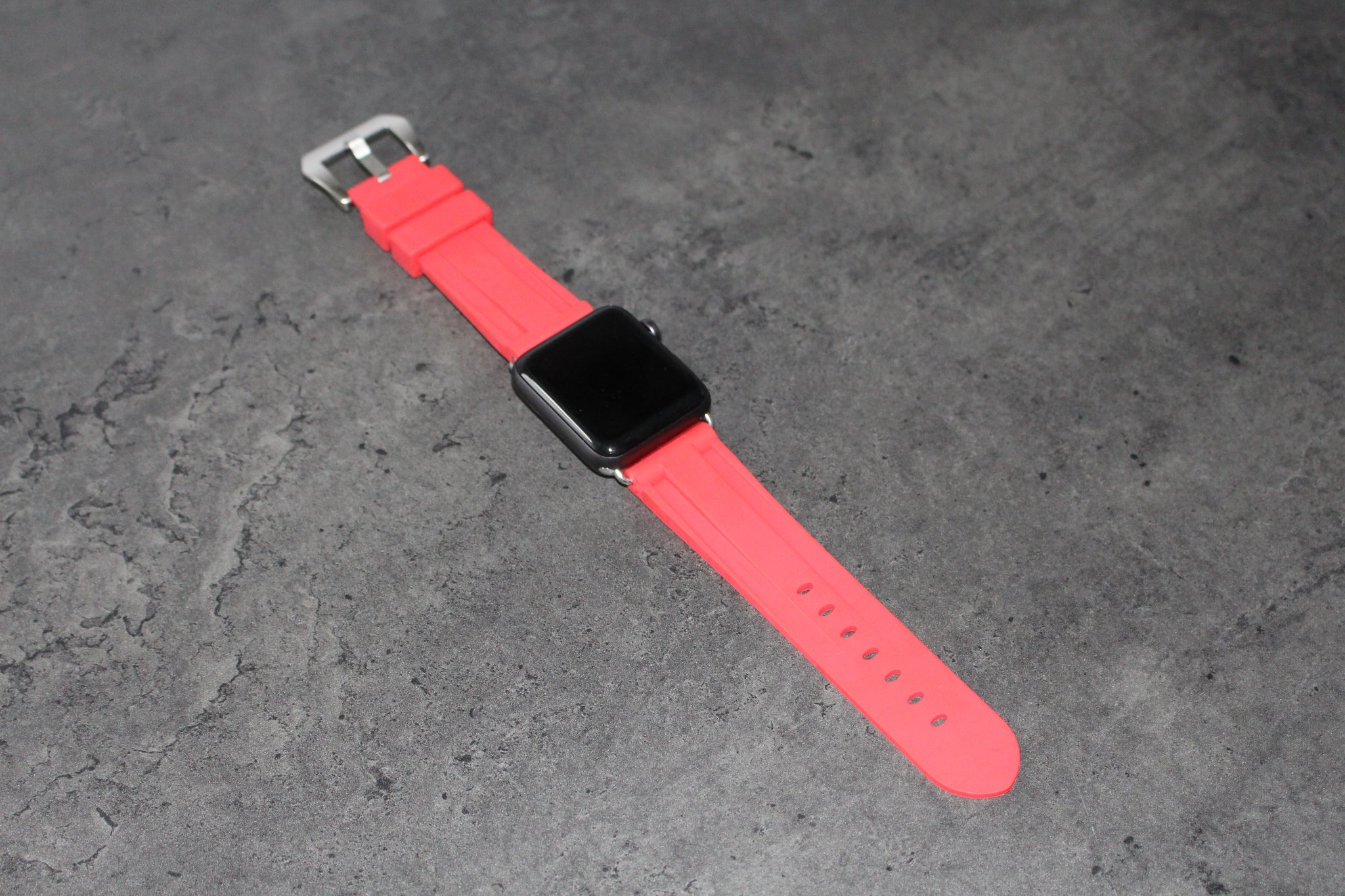 RED PASSION APPLE WATCH STRAP