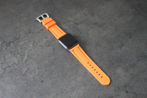 FRUITY ORANGE APPLE WATCH STRAP