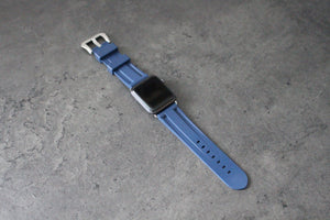 DARK BLUE APPLE WATCH STRAP - Mondesu I Apple Watch Armbänder⌚️