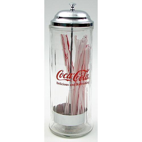 Coca-Cola Strawer Dispenser